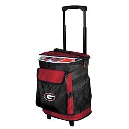 University of Georgia Bulldogs 48 Can Rolling Cooler