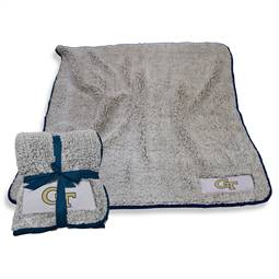 "Georgia Tech Yellow Jackets Frosty Fleece Blanket 60"" X 50"""