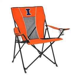University of Illinois Fighting Illini Game Time Chair Folding Tailgate