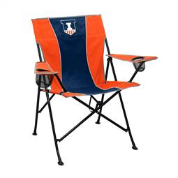 University of Illinois Fighting Illini Pregame Folding Chair with Carry Bag