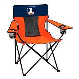 University of Illinois Fighting Illini Elite Folding Chair with Carry Bag