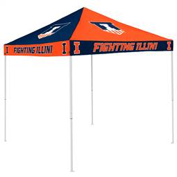 University of Illinois Fighting Illini   9 ft X 9 ft Tailgate Canopy Shelter Tent