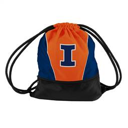 University of Illinois Fighting Illini Spirit String Pack Tote