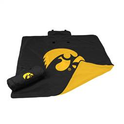 University of Iowa Hawkeyes All Weather Stadium Blanket