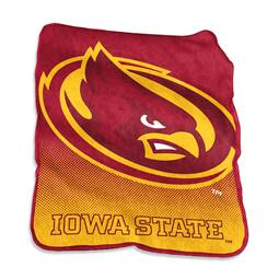 Iowa State University Cyclones Raschel Throw Blanket