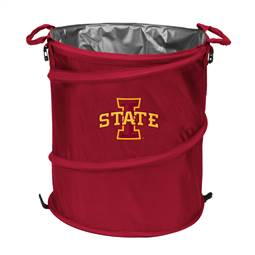 Iowa State University Cyclones 3-IN-1 Cooler Trash Can Hamper