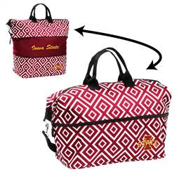 Iowa State University Cyclones Expandable Tote Bag