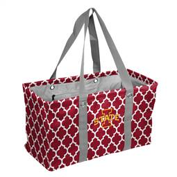 Iowa State University Quatrefoil Picnic Caddy