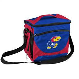 University of Kansas Jayhawks 24 Can Cooler