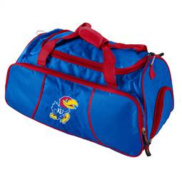 University of Kansas Jayhawks Athletic Duffel Bag