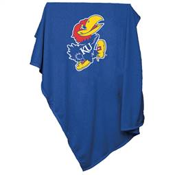University of Kansas Jayhawks Sweatshirt Blanket 74 -Sweatshirt Blnkt