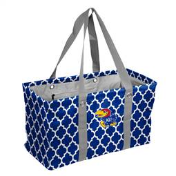 University of Kansas Jayhawks Picnic Caddy Tote Bag
