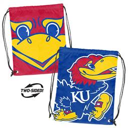 University of Kansas Jayhawks Doubleheader Backsack 87D - Dbl Head Strin