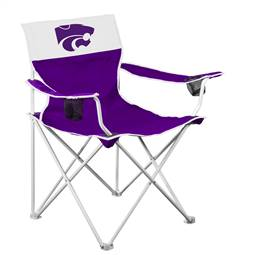 Kansas State Wildcats Big Boy Folding Chair with Carry Bag
