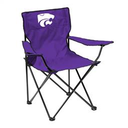 Kansas State University Wildcats Quad Folding Chair with Carry Bag