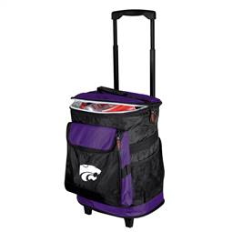 Kansas State University Wildcats 48 Can Rolling Cooler