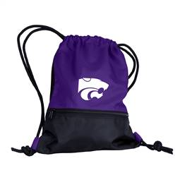 Kansas State University Wildcats  String Pack Tote Bag Backpack Carry Case