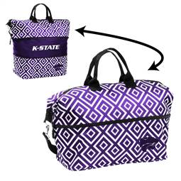 Kansas State University Wildcats Expandable Tote Bag