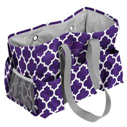 Kansas State University Quatrefoil Jr Caddy