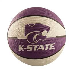 Kansas State University Mini-Size Rubber Basketball
