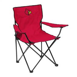 University of Louisville Cardinalss Quad Folding Chair with Carry Bag