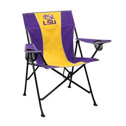 LSU Louisiana State University Tigers Pregame Folding Chair with Carry Bag