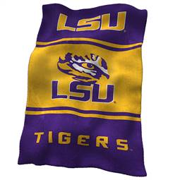 LSU Louisiana State University UltraSoft Blanket