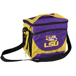 LSU Louisiana State University Tigers 24 Can Cooler
