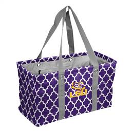 LSU Louisiana State University Tigers Picnic Caddy Tote Bag