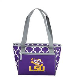 LSU Louisiana State University Tigers 16 Can Cooler Tote Bag