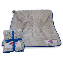 "Louisiana Tech Frosty Fleece Blanket 60"" X 50"""