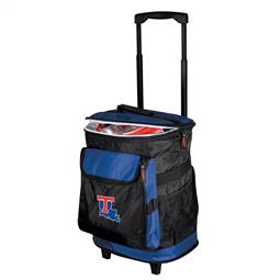Louisiana Tech 48 Can Rolling Cooler
