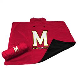 University of Maryland Terrapins All Weather Blanket 73 -All Weather Blkt