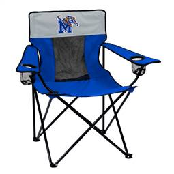 University of Memphis Tigers Elite Folding Chair with Carry Bag