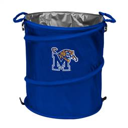 University of Memphis Tigers 3-IN-1 Cooler Trash Can Hamper