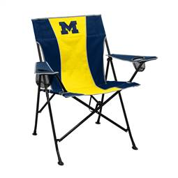 University of Michigan Wolverines Pregame Chair Folding Tailgate