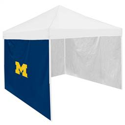University of Michigan Wolverines Side Panel Wall for 9 X 9 Canopy Tent