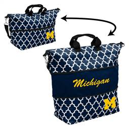 University of Michigan Wolverines Expandable Carry Tote Bag