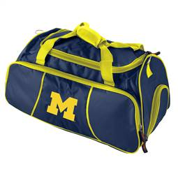 University of Michigan Wolverines Athletic Duffel Bag