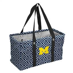 University of Michigan Wolverines  Double Diamond Picnic Caddy