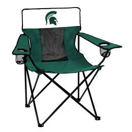 Michigan State University Spartans Elite Folding Chair with Carry Bag