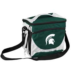 Michigan State University Spartans 24 Can Cooler
