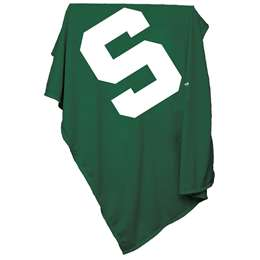 Michigan State University Spartans Sweatshirt Blanket 74 -Sweatshirt Blnkt