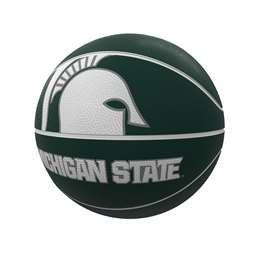 Michigan State University Mascot Official-Size Rubber Basketball