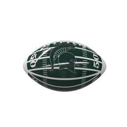 Michigan State University Field Mini-Size Glossy Football