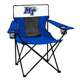 Middle Tennessee State University MTSU Elite Chair Folding Tailgate