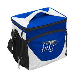 Middle Tennessee State University MTSU 24 Can Cooler