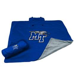 Middle Tennessee State University MTSU All Weather Stadium Blanket
