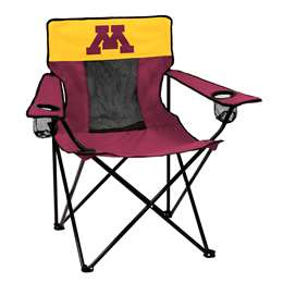 University of Minnesota Golden Gophers Deluxe Chair Folding Tailgate Camping Chairs