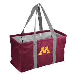 University of Minnesota Golden Gophers Crosshatch Picnic Tailgate Caddy Tote Bag